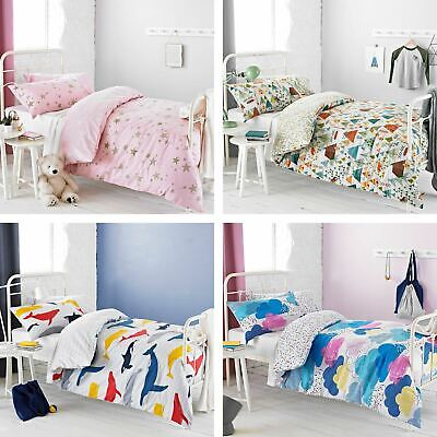 Textile Warehouse Childrens Kids Boys Girls Blue Pink Duvet Cover Bedding Set • 18.95£