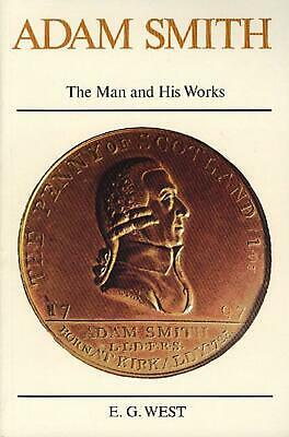 AU30.20 • Buy Adam Smith: The Man And His Works By E.G. West (English) Paperback Book Free Shi