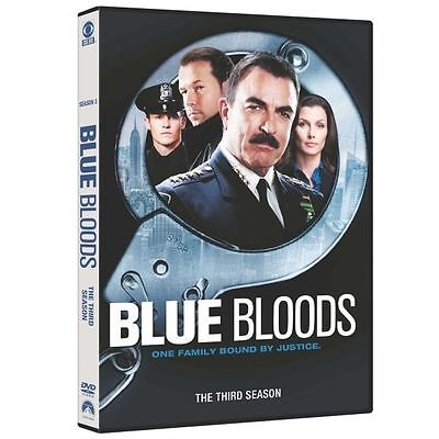Blue Bloods Complete Third Season Series Three (3) R2 Dvd Boxset Tom Selleck Vgc • 10.99£