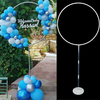 $26.39 • Buy 1/2x Balloon Column Arch Set Base Stand Display Kit Wedding Party Decor Supplies
