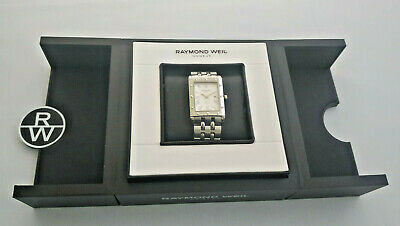 Mens Raymond Weil Tango Stainless Steel White Dial 5381 Box & Papers • 319£