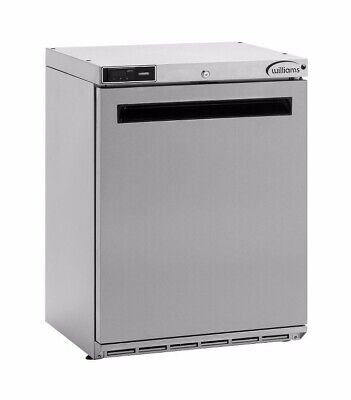 Williams HA135SA Commercial Under Counter Stainless Steel  Fridge - Used • 250£