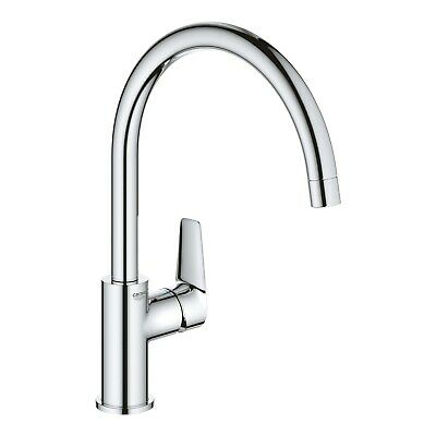 £65.96 • Buy Grohe BauEdge Chrome Single Lever Mixer Kitchen Tap