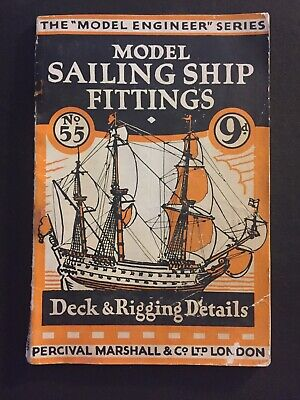 Model Sailing Ship Fittings DECK & RIGGING The Model Engineer Series • 4.99£