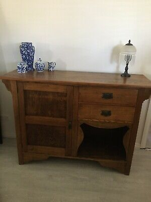 AU525 • Buy Antique Silky Oak Sideboard C1920