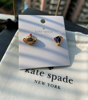 $ CDN26.30 • Buy Kate Spade New York Tea Time Stud Earrings