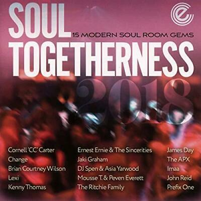 Soul Togetherness 2018, Various, Audio CD, New, FREE & FAST Delivery • 16.42£