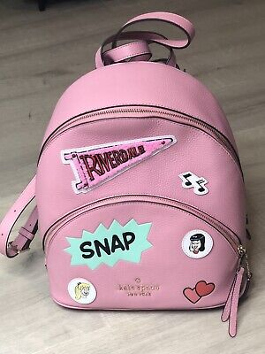 $ CDN294.97 • Buy Kate Spade X Archie Comics Medium Pink Leather Backpack Limited Edition