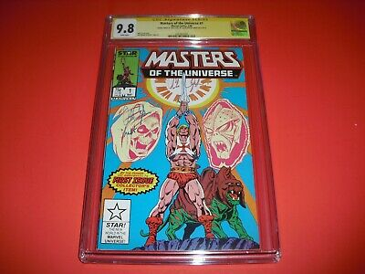 $349.99 • Buy Masters Of The Universe #1 CGC 9.8 SS Oppenheimer W/ WHITE PAGES 1986! Star A01