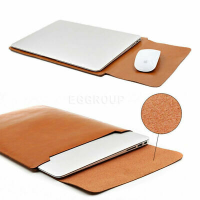 AU24.99 • Buy PU Leather Sleeve Laptop Bag Case Pouch For Apple 2020 MacBook Pro 13.3  (A2289)
