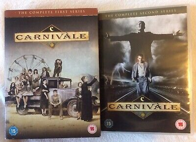 CARNIVALE COMPLETE SERIES DVD - SEANSON 1 And 2 • 14.99£