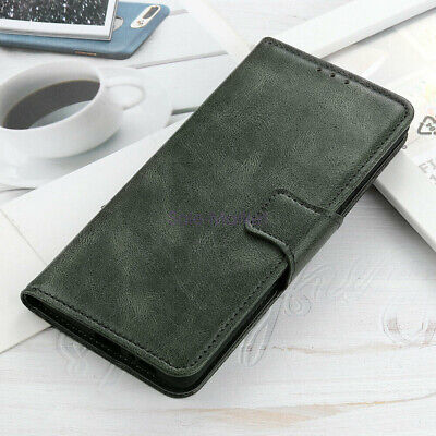 AU10.43 • Buy For ASUS ROG Phone 3 Retro PU Leather Wallet Purse Card Slots Case Cover