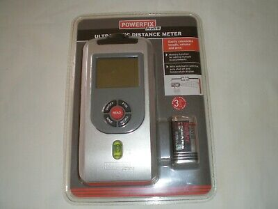 Powerfix Profi  Ultrasonic Distance Meter ( New And Boxed ) • 15£