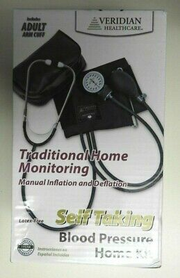 $4.99 • Buy Veridian Pressure Monitor Self Inflating Brand New In Box Easy Squeeze Bulb