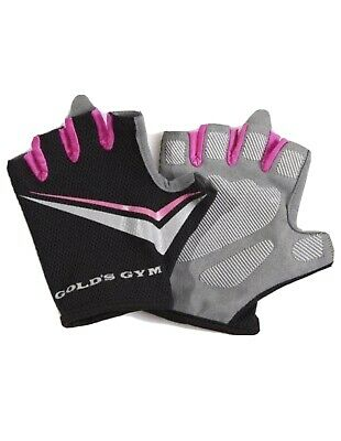 £4.99 • Buy Ladies Golds Gym Fitness Gym Wear Weight Lifting Workout Training Cycling Gloves