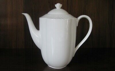 A Villeroy & Boch Arco Weiss Porcelain China White Coffee Pot  • 65£