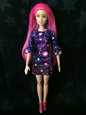 Barbie OOAK Hybrid - Colour-change Hair Doll Head On A Made To Move Body • 34.99£