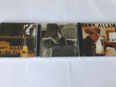 $ CDN24.99 • Buy Lot Of 3 Gary Allan Country Music CD'S Tough All Over Included Good Condition