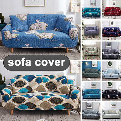 AU49.49 • Buy 1/2/3/4 Seater Sofa Cover Couch Lounge Protector Slipcovers High Stretch Covers