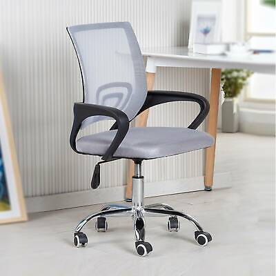 AU56.99 • Buy Office Chair Gaming Chair Computer Mesh Chairs Executive Seating Study Seat Grey