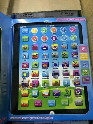 £9.99 • Buy  Toddler Kids Learning Tablet Educational Toys 3-6 Years Educational Xmas Gift