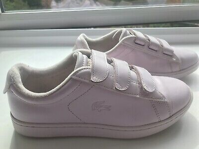 Ladies Pink Lacoste Shoes, Size UK 4 • 15£