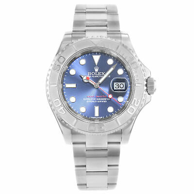 $ CDN14932.74 • Buy Rolex Yacht-Master Steel Platinum Blue Dial Automatic Mens Watch 116622