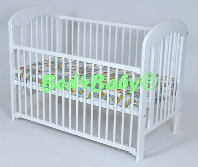 Baby Dropside Cot   NATALIE   120cm X 60cm. FREE NEXT WORKING DAY DELIVERY • 94.99£