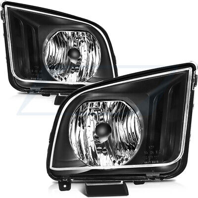 $79.82 • Buy Replacement Headlight Assembly For 2005 - 2009 Ford Mustang FO2503215/FO2503231