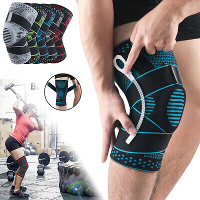 AU19.99 • Buy Knee Brace Support Sleeves Adjustable Compression Wrap Arthritis Pain Protector