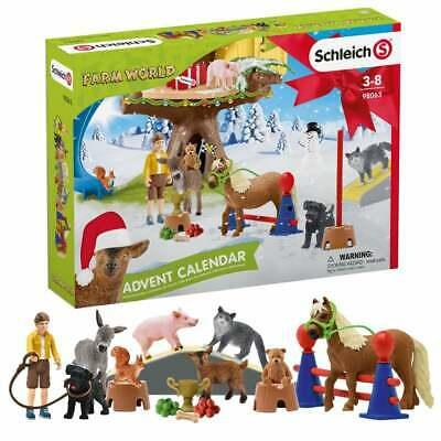 Schleich 2020 Farm World Advent Calendar With Figures And Accessories • 26.49£