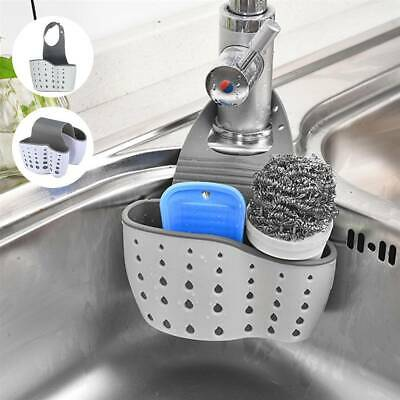 AU13.99 • Buy Kitchen Accessories Utensil Holder Organizer Adjustable Snap Sink Soap Sponge AU