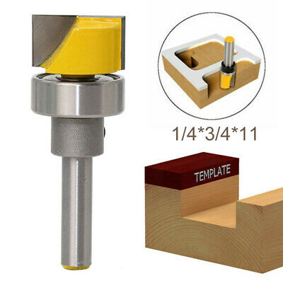 1/4 Shank Hinge Mortise Template Router Bit Trim Woodworking Milling Cutter·UK • 6.39£