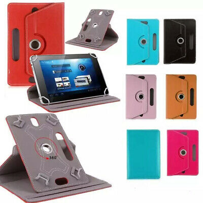 360 Degree Rotate PU Leather Case For ACER Tablet 7  10  Tab PC Stand SLIM Cover • 4.49£