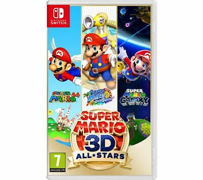 NINTENDO SWITCH Super Mario 3D All-Stars Game 7+ Action-Adventure - Currys • 36.99£