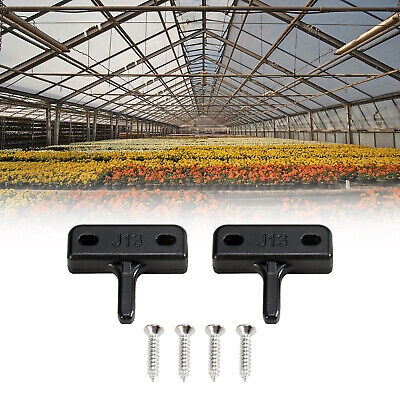 2 Pegs For Greenhouse Window Replacement Kits Window Stay Kit Flat Peg Type O3J6 • 2.71£