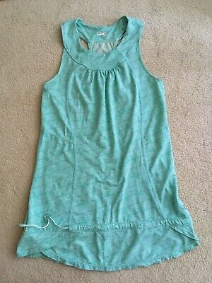 $ CDN29.99 • Buy Lululemon Singlet Run Tank Mint Green Toothpaste White Pattern 4/6