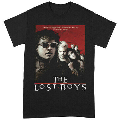 £12.49 • Buy The Lost Boys 'Distressed Poster' (Black) T-Shirt - NEW & OFFICIAL!