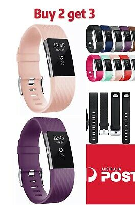 AU5.99 • Buy For Fitbit Charge 2 Bands Various Replacement Wristband Watch Strap Bracelet