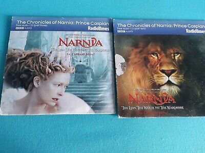 AUDIO BOOK CD X2 - THE CHRONICLES OF NARNIA: PRINCE CASPIAN Part 2 & 3 Only • 2.50£
