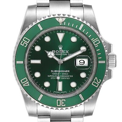 $ CDN26274.80 • Buy Rolex Submariner Hulk 116610LV. All Original Materials And Papers. 2 Straps Incl