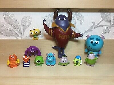 Monsters Inc / University Figure Bundle - Assorted Toys / Cake Toppers Pixar • 11£