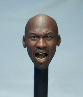 $39.99 • Buy 1/6 SO-TOYS SO-011 Michael Jordan Head Sculpt 2.0 For 12  Enterbay Hot Toys Body