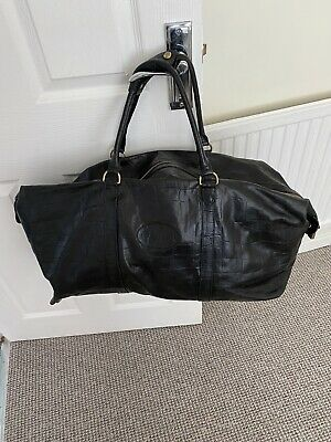 £899 • Buy Mulberry Weekend Travel Bag, Black Congo Leather, Clipper All Purpose Bag