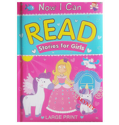 £5.99 • Buy Girls Now I Can Read Stories Story Reading Book Bedtime 90 Pages By Brown Watson