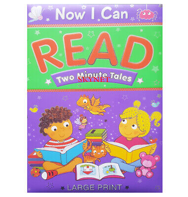 £5.99 • Buy Kids Now I Can Read Two Minute Tales Story Reading Book Bedtime By Brown Watson