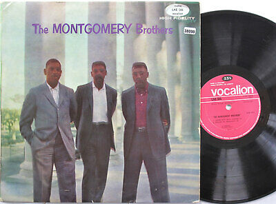 THE MONTGOMERY BROTHERS LP, THE MONTGOMERY BROTHERS (VOCALION UK Issue) • 13.20£