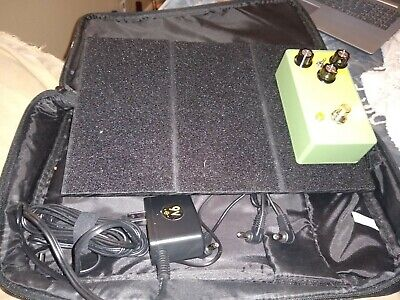 $ CDN59.32 • Buy Guitar Bass Effect Pedal Board With Case Power Supply Patch Cables Daisy Chain