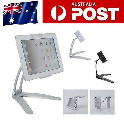 AU11.79 • Buy 2 In 1 Tablet Stand Desktop Wall Mount Stand Bracket Holder For IPad Air IPhone