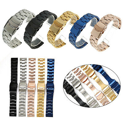 $ CDN17.72 • Buy Fashion Solid Stainless Steel Watch Strap Band Bracelet For Seiko Diver Watch